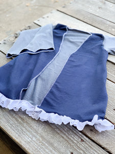 Blue Jean Ruffled Duster - Little Southern Swag