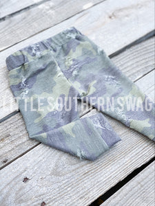 Distressed Camo Loungers - Little Southern Swag