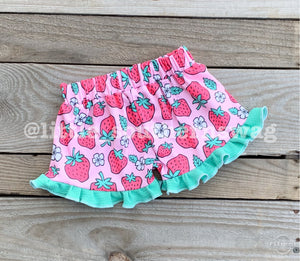 Strawberry Ruffles - Little Southern Swag