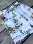 Land Before Cowboys & Dino's Boy Shorts - Little Southern Swag