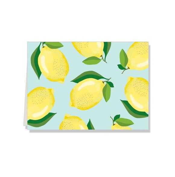 Lemon Folded Notes