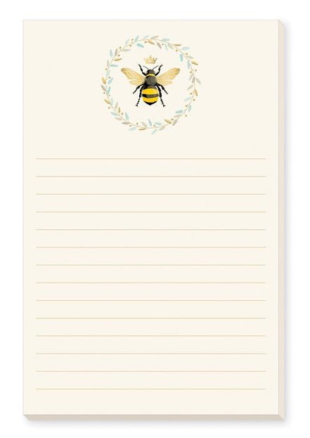 Queen Bee Memo Pad