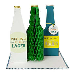 Father's Day Beer Bottle Card