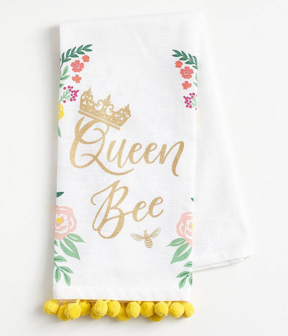 Queen Bee Tea Towel