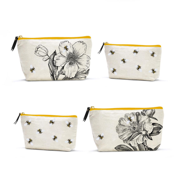 Bees and Flowers Multipurpose Bag Set
