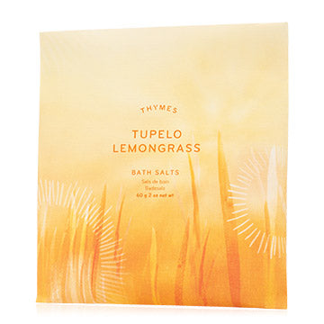 Thymes Tupelo Lemongrass Bath Salts Envelope