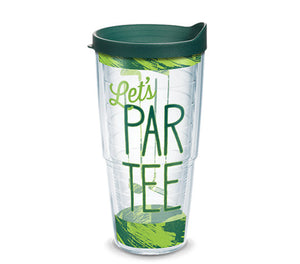 Tervis Let's Par Tee 24oz Tumbler with Hunter Green Lid