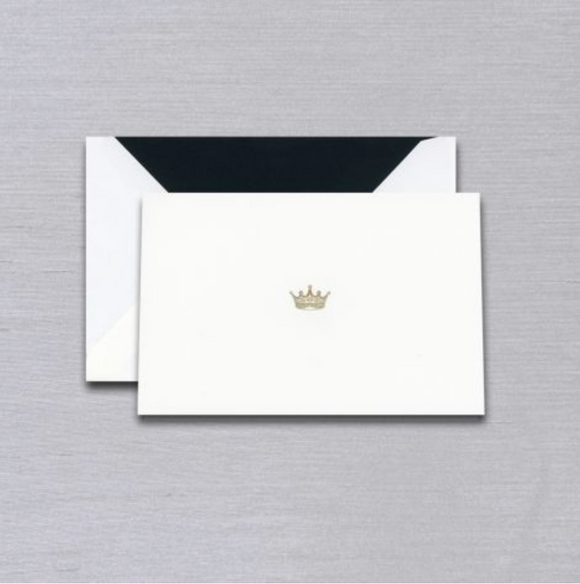 Vera Wang Engraved Crown Notes