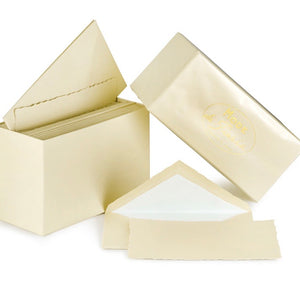 G. Lalo Mode de Paris Boxed Stationery in Ivory