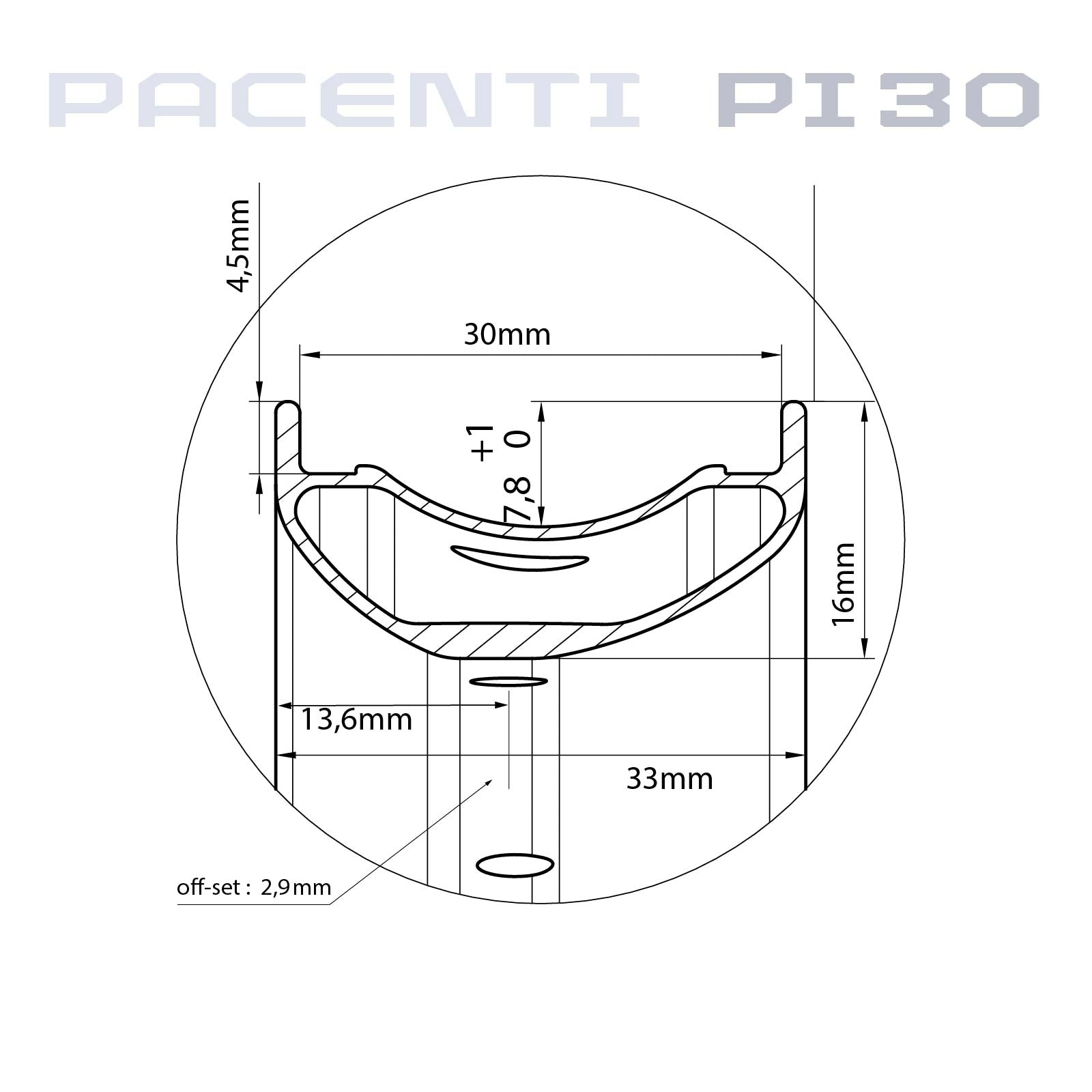 "PI30-END WHEELSET 29"" 142MM 6BOLT"