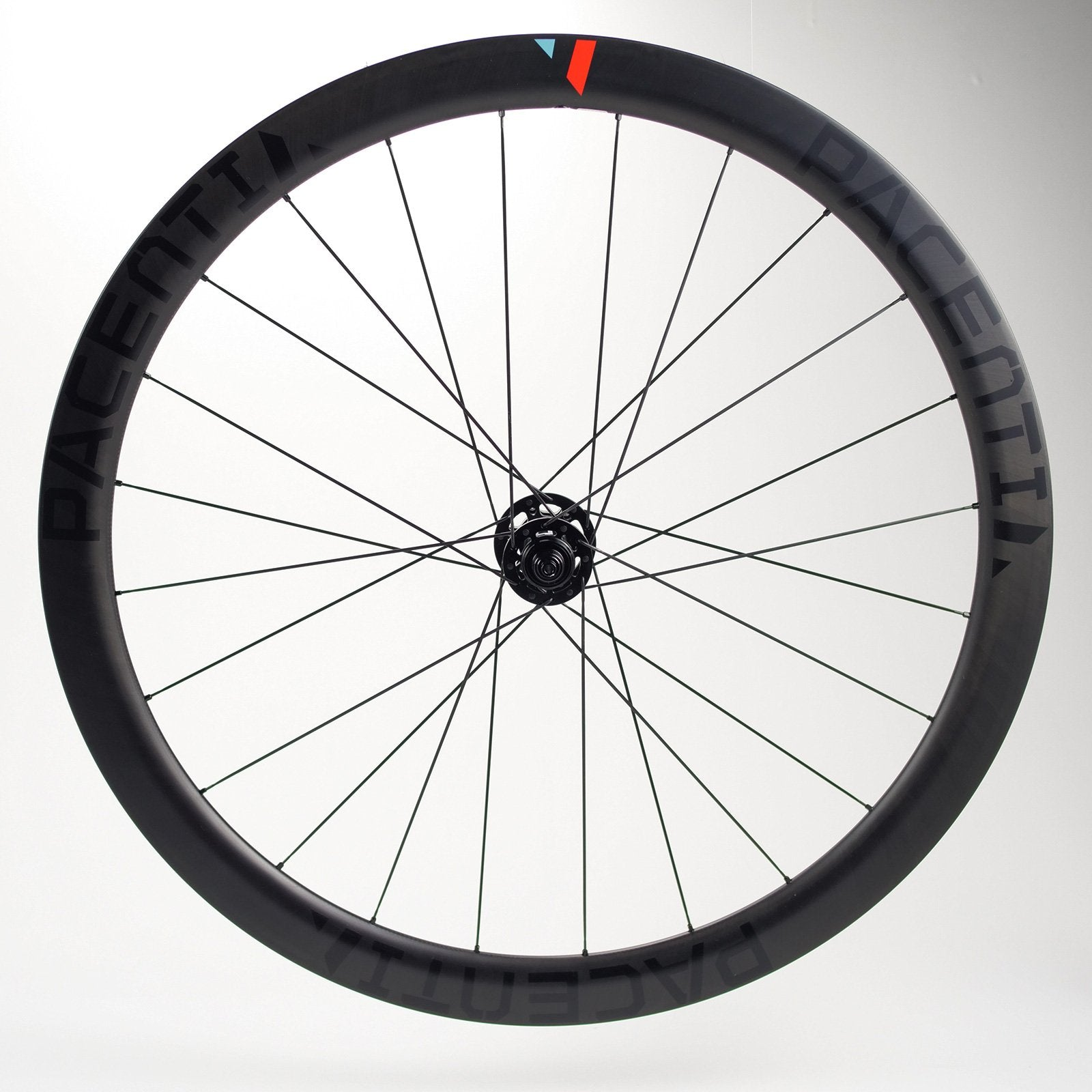 Carbon 45D Tubular disc brake wheel set 700c