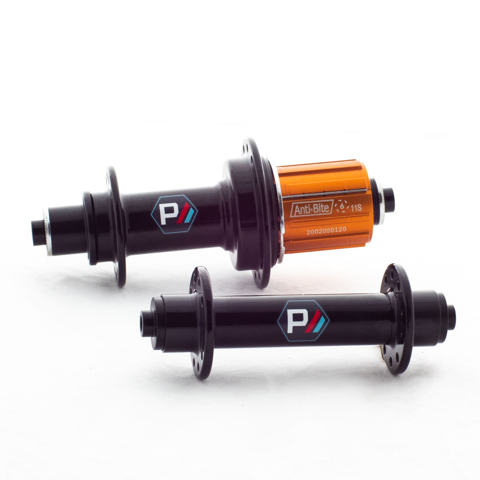 Pacenti Road hub Front 100mm QR Black 20/24