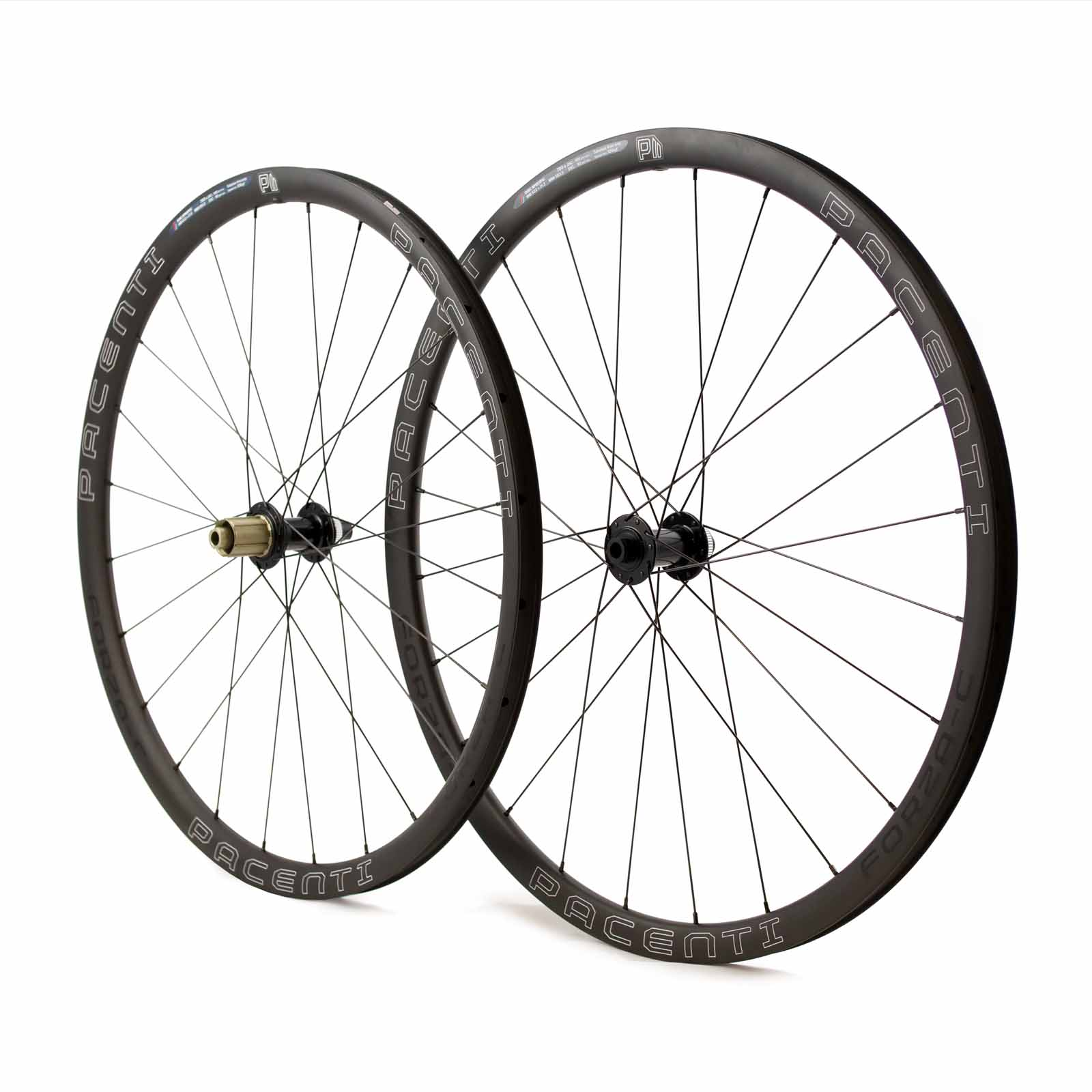 FORZA-C 30MM DISC CLINCHER WHEELS 700C DYNAMO