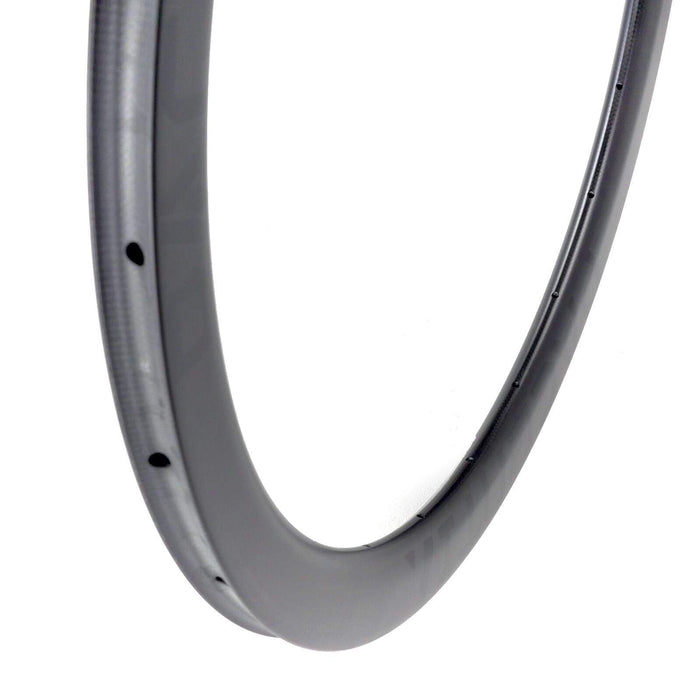 Carbon 45mm rim  disc tubular 24h 700c