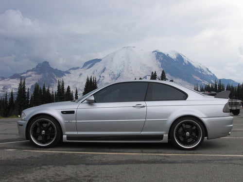 2001-2006 BMW M3 E46 SEPARATE STYLE REAR