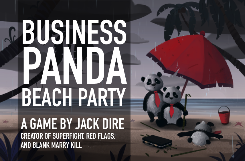 Business Panda Beach Party