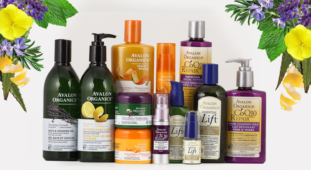 Avalon organics product collection