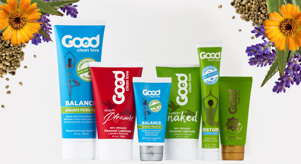 Good Clean Love product collection