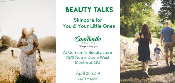 Skincare workshop