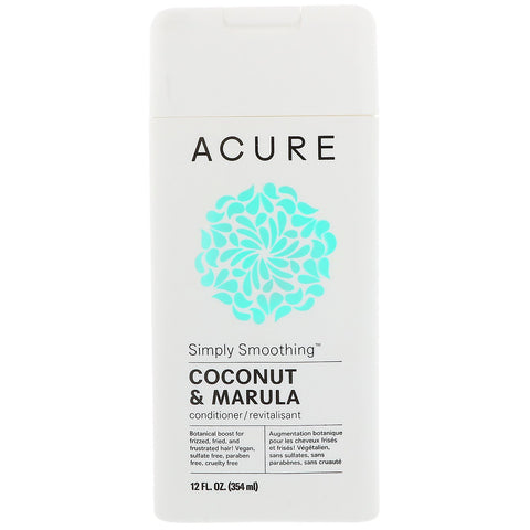 Acure Simply Smoothing Conditioner - Coconut & Marula