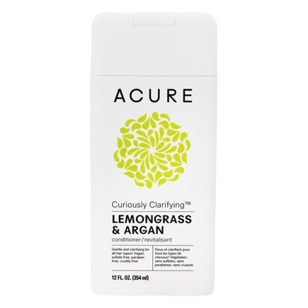 Acure - Curiously Clarifying Conditioner - Lemongrass & Argan