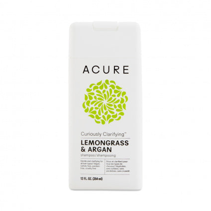 Acure - Curiously Clarifying Shampoo - Lemongrass & Argan