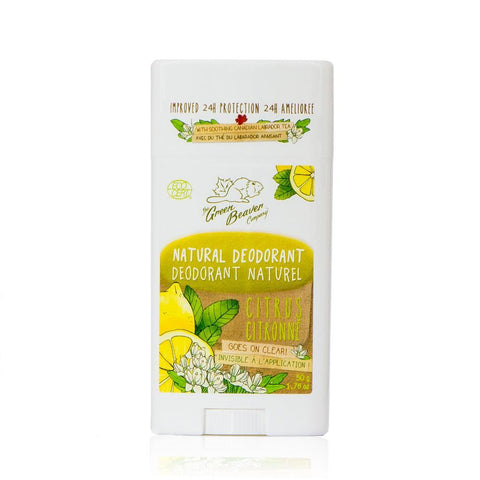 Citrus Deodorant Stick - Camomile Beauty - Green Natural Cruelty-free Beauty Shop