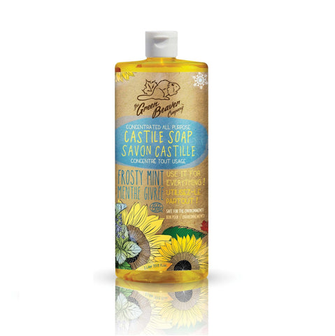 Sunflower Castille Soap Frosty Mint