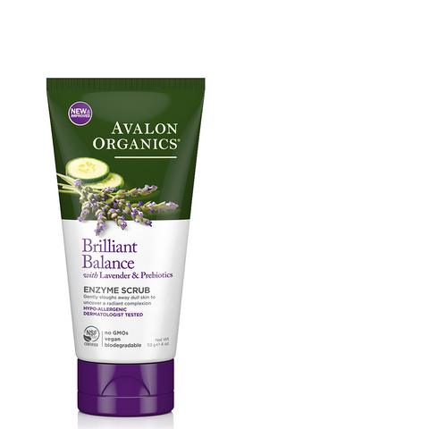 Exfoliating Enzyme Scrub Lavender - Camomile Beauty - Green Natural Cruelty-free Beauty Shop