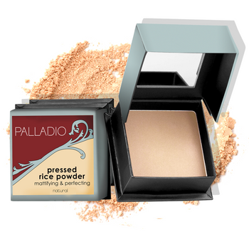 Palladio-Pressed Rice Powder - Translucent
