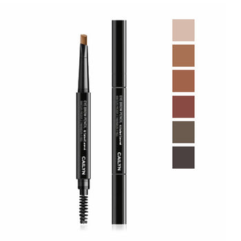 Eyebrow Pencil Dual Ended + Brush - Camomile Beauty - Green Natural Cruelty-free Beauty Shop