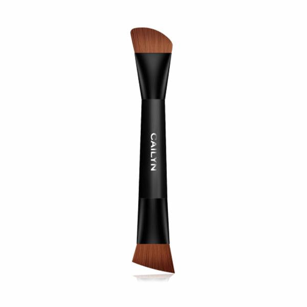 Contour Duo Brush - Camomile Beauty - Green Natural Cruelty-free Beauty Shop