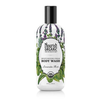 Nourish Organic-Organic Body Wash (Lavender Mint)
