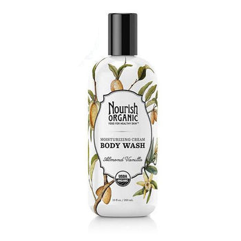 Nourish Organic-Organic Body Wash (Almond Vanilla)