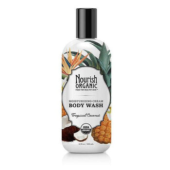 Nourish Organic-Organic Body Wash (Tropical Coco.)