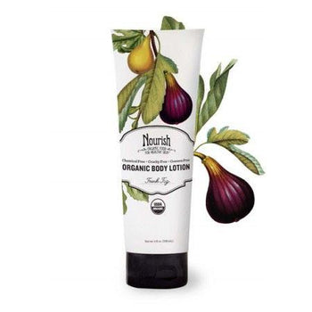 Nourish Organic-Organic Body Lotion (Fresh Fig)