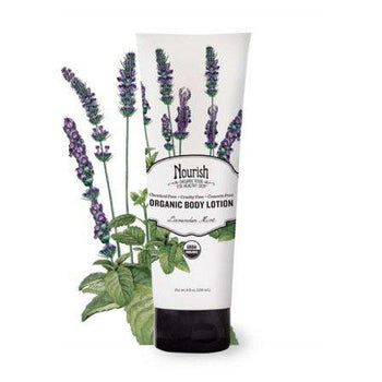 Nourish Organic-Organic Body Lotion Lavender Mint