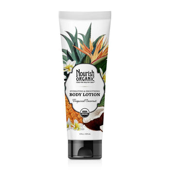 Nourish Organic-Organic Body Lotion (Tropical Coconut)