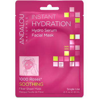 Andalou Naturals-Instant Hydration Facial Sheet Mask