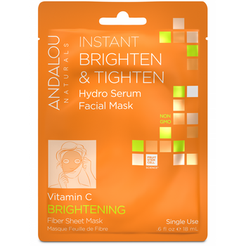Andalou Naturals-Instant Brighten&Tighten Facial Sheet
