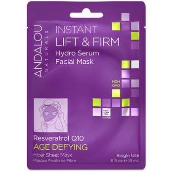 Andalou Naturals-Instant Lift&Firm Facial Sheet Mask