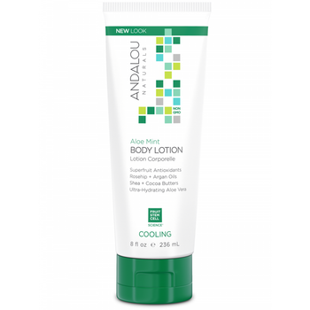 Aloe Mint Cooling Body Lotion - Camomile Beauty - Green Natural Cruelty-free Beauty Shop