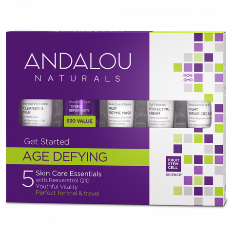 Age Defying Get Started Kit - Camomile Beauty - Green Natural Cruelty-free Beauty Shop