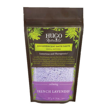 French Lavender Effervescent Bath Salts - Camomile Beauty