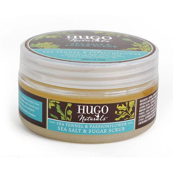 Hugo Naturals-Sea Fennel & Passionflower Sea Salt and Sugar Body