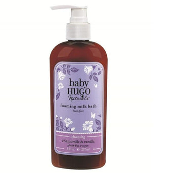 Baby Hugo Foaming Milk Bath - Camomile Beauty - Green Natural Cruelty-free Beauty Shop