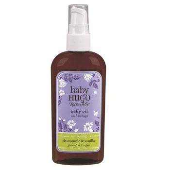Baby Hugo Baby Oil - Camomile Beauty - Green Natural Cruelty-free Beauty Shop