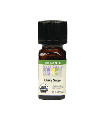 Clary Sage organic Oil - Camomile Beauty - Green Natural Cruelty-free Beauty Shop