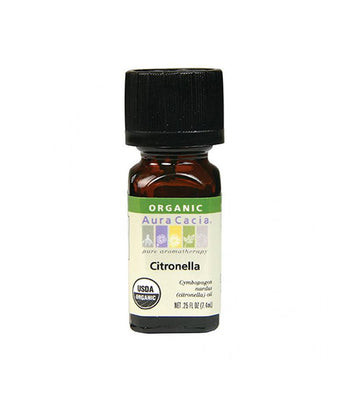 Citronella organic Oil - Camomile Beauty - Green Natural Cruelty-free Beauty Shop