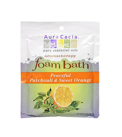 Aura Cacia - Patchouli/Sweet Orange Foam Bath